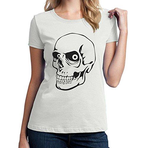 Angy Skull Rock Head Damen T-Shirt