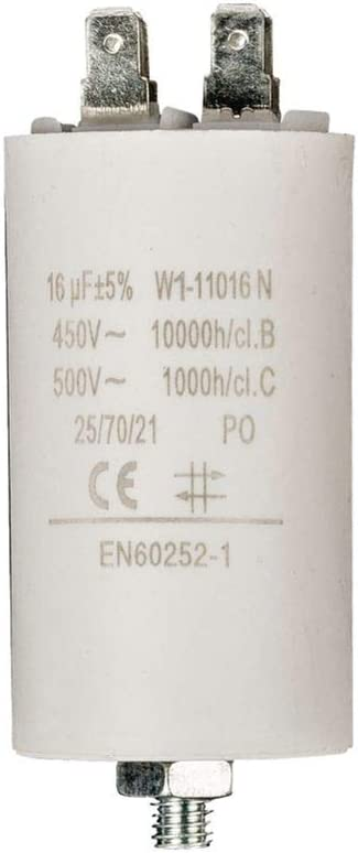 Fixapart W1 11016n Motorkondensator 16uf 450 V Kamera