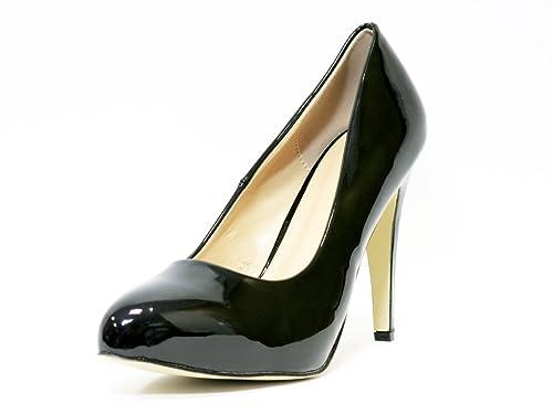 Ufficio Elegante Uk : Scarpe dÉcolletÉ donna donna nero tacco alto ufficio lavoro scarpe