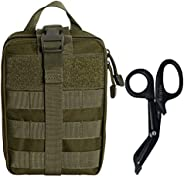 Krisvie Tactical EMT Pouch 1000D Nylon Detachable Molle First Aid Bag for Outdoor