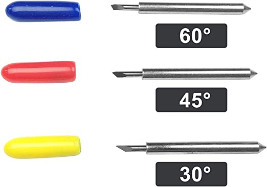 Cuchilla de acero de tungsteno para cortador de paletas de corte Roland de 30/45/60 grados 30 Degree 3#: Amazon.es: Hogar