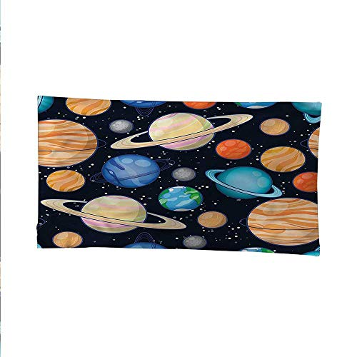 (Galaxyocean tapestrylarge tapestryGalaxy Space Art Solar 60W x 40L Inch)