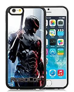 Case For iPhone 6,ROBOCOP Black iPhone 6 (4.7) TPU Case Cover