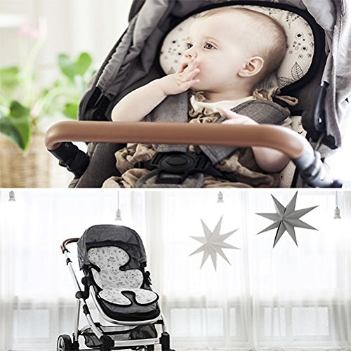 DONO 3D Air Mesh Cool Seat Pad/Cushion/Liner for Stroller with Cotton Blankets (HOLLYGARDEN) by DONO-DONO (Image #3)