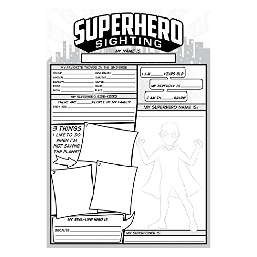 Top Notch Teacher Products Superhero Sighting (36