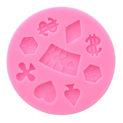 LnLyin - Molde de Silicona para Fondant, moldes de Chocolate, moldes para repostería,