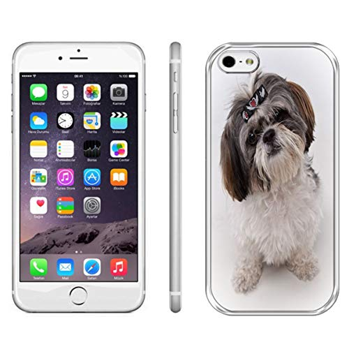 iPhone 6 Shih Tzu Case,iPhone 6 Shih Tzu Dogs Case,iPhone 6S Hard Back Case Shih Tzu Dogs Case Shih Tzu Haircuts Shockproof Protective Case for iPhone 6S/iPhone 6