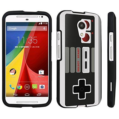 Cheap DuroCase ® Motorola Moto G 2nd Gen. 2014 Hard Case Black – (Game Controller)