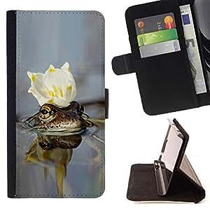 DEVIL CASE - FOR Samsung Galaxy S3 III I9300 - cvetok korona voda - Style PU Leather Case Wallet Flip Stand Flap Closure Cover