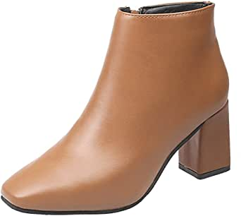 Posional Zapatos De Mujer Botines Cortos TacóN Alto Femenino Botas ...