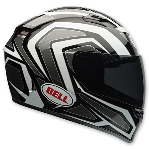 Bell Machine Adult Qualifier On-Road Motorcycle Helmet - White/Black / Small
