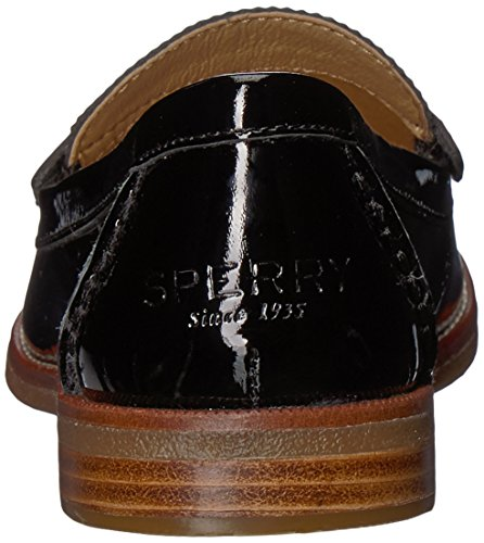 Sperry Damen Seaport Penny Loafer Schwarzes Patent