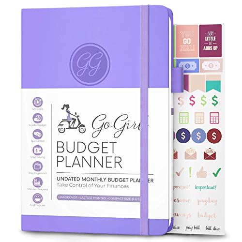 GoGirl Budget Planner Monthly