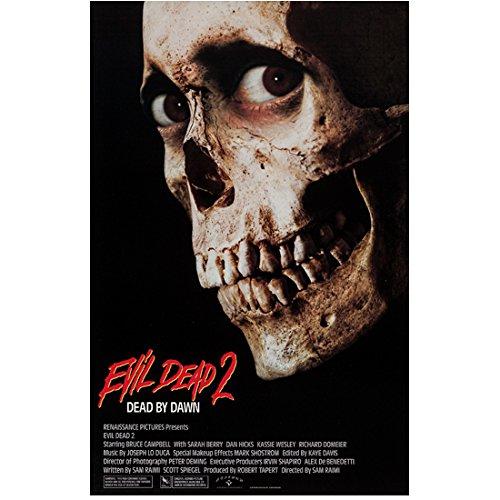 The Evil Dead II (1987) 8 Inch x 10 Inch Photo Skull w/Eyes kn