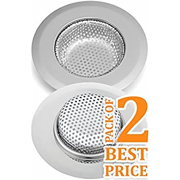 This Item Star Of Iron Kitchen Sink Strainer Perfect Fit 4 45 Inch Dia Sink Drain Strainer Set Of 2 Ideal As Drain Catcher Kitchen Drain Cover Or