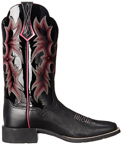 Stiv Womens Stonestone Stivaletto Western Da Cowboy Nero / Nero