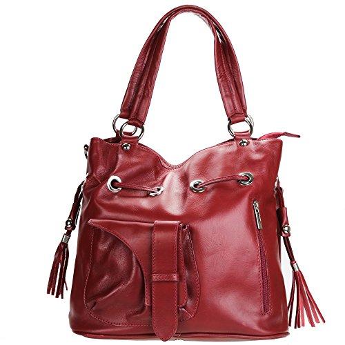 Black Women Tote Black Olivia Red For Bag HFTwxBptq