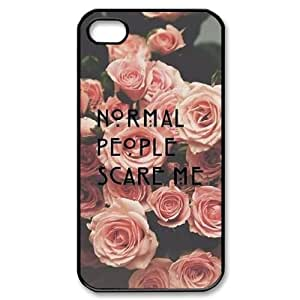 Custom Cover Case with Hard Shell Protection for Iphone 4,4S case with American Horror Story lxa#311070