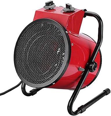 YSCCSY Calefactor eléctrico Industrial Ventilador 3000 W ...