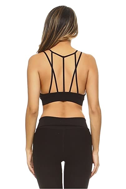 arrives new arrival first look Women's Petite Mesh Double Strap Sports Bra at Amazon ...