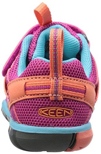 Keen Chandler CNX - Zapatos de Low Rise Senderismo Unisex Niños Rosa (Very Berry/capri Very Berry/capri)
