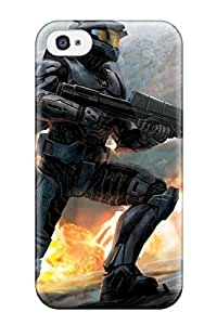 Iphone 4/4s Cover Case - Eco-friendly Packaging(driver Halo 3 Bungie )