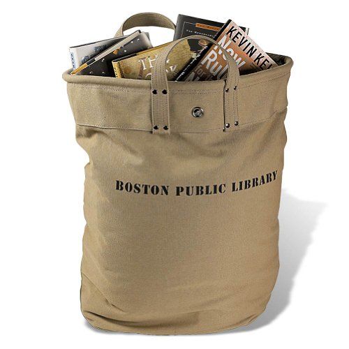 Levenger Boston Public Library Delivery Bag