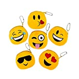 4'' Emoticon Coin Purse With Ball Chain