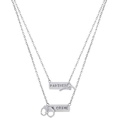friendship personalised couple partner necklaces jewellery necklace matching