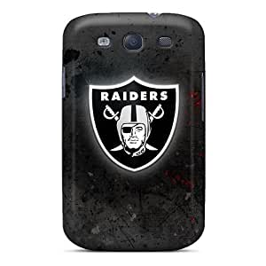 Sanp On Case Cover Protector For Galaxy S3 (oakland Raiders)