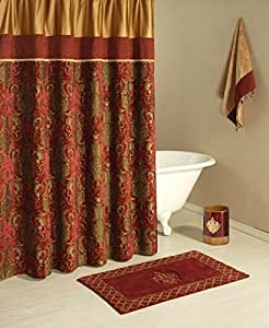 Austin Horn Classics Montecito Shower Curtain by Pacific Coast Home Furnishings, Inc.