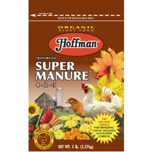 (Hoffman 20505 Dehydrated Super Manure 4-2-3, 5 Pounds)