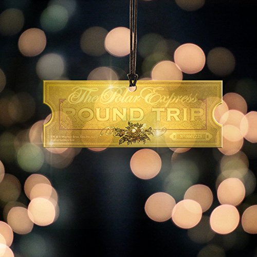 polar express train ticket shaped hanging acrylic christmas rh christmascountdownlive com christmas light fuses 3a icicle christmas light fuse