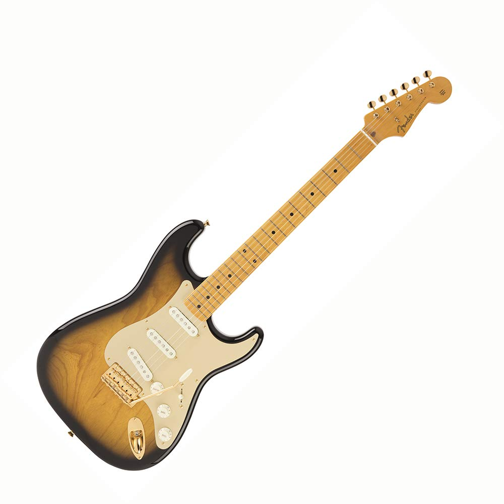 Fender フェンダー エレキギター Made in Japan Traditional 50s Stratocaster Anodized (2 Color Sunburst)   B07HRGKFJF