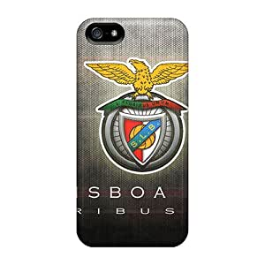 Premium Tpu Benfica Cover Skin For Iphone 5/5s