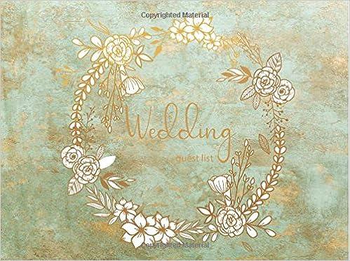 amazon com wedding guest list wedding guest tracker wedding guest