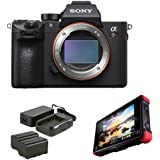 Sony Alpha a7R III Mirrorless Digital Camera (Body Only) with Atomos Ninja Flame 7 Recording Monitor and Atomos Power Kit