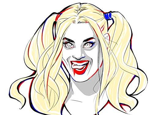 Drawing Harley Quinn -
