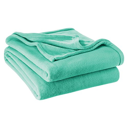 Bare Home Ultra Soft Microplush Velvet Blanket - Luxurious Fuzzy Fleece Fur - All Season Premium Bed Blanket, Twin Extra Long (Twin XL/Twin, Turquoise)