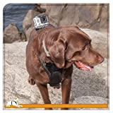 Kurgo Tru-Fit Smart Dog Harness with Camera Mount, Large, Black