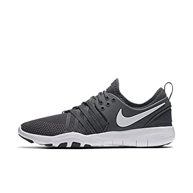 cfb33e52d1e41 Image Unavailable. Image not available for. Color  Nike Womens Free TR 7  Dark Grey White ...