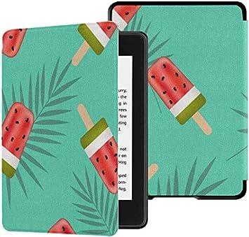 Estuches Paperwhite Kindle Estuche de Helado de sandía en un palito para Paperwhite Estuche Kindle con Despertador automático/Reposo Kindle Paperwhite Case 2018 10th Generation 2018: Amazon.es: Electrónica