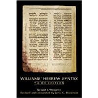 Williams' Hebrew Syntax, Third Edition