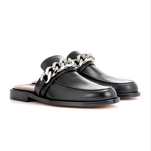 Zapatillas Slip-on de Mujer Zapatillas Baotou Comfort Mocasines Primavera Verano Negro Talla 34-40: Amazon.es: Zapatos y complementos