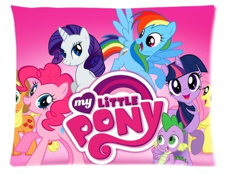 Popular Cartoon My Little Pony Custom Picture Pillow Cases 20x26 (One Side) (My Little Pony Equestria Girl Costume)