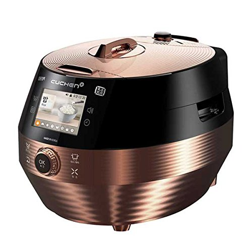 Cuchen Troy IH Pressure Rice Cooker with Smart Color LCD 6 Cup CJH-PC0609 110V