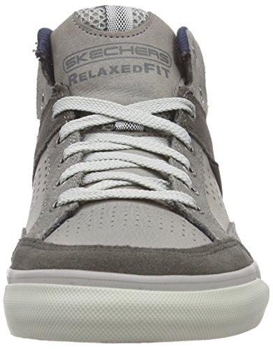 Skechers Heren Relaxte Fit Diamondback - Oduro Grijs
