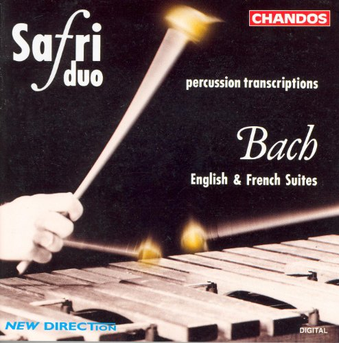 Bach: English Suites Nos. 2 and 4 and French Suite No. 6 (Arr. for Percussion Duo) ()