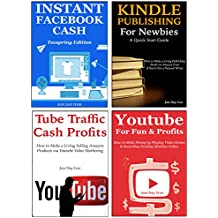 4 Online Business Ideas (2016): 4 Money Making Ideas Every New Online Entrepreneurs Can Implement… Facebook Teespring, Kindle Publishing, Tube Traffic Profits & Playing Games for Youtube Marketing
