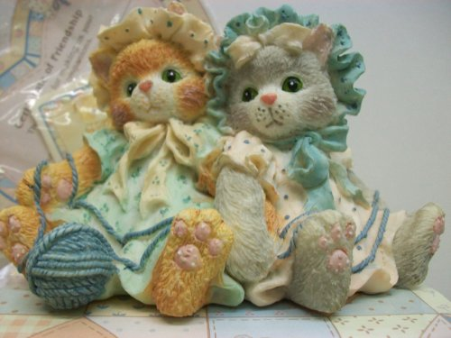 Calico Kittens Figurine You're Always There When I Need You